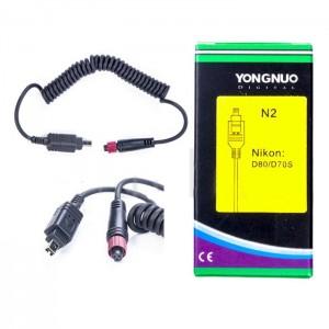 Youngnuo LS-02/N2 кабель для Nikon D80/D70/D70S/D40/D50/D60/D3000