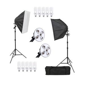 Комплект постоянного света люминесцентный 450Вт Fotokvant FL-5 KIT