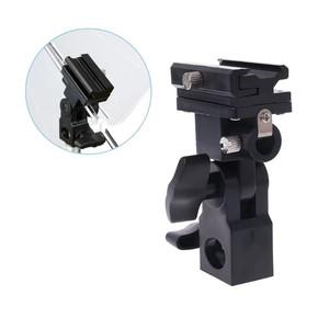 Кронштейн-крепление для накамерной вспышки и зонта на стойку Fotokvant RFLH-01