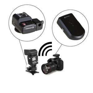 Радиосинхронизатор для накамерной вспышки с креплением для зонта Fotokvant WT4-UH