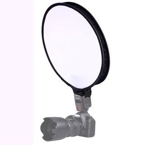 Софтбокс для накамерной вспышки круглый 30 см Fotokvant SBK-30