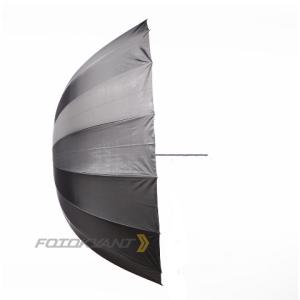 Параболический глубокий фотозонт серебряный 104 см на отражение Fotokvant U-104S Para