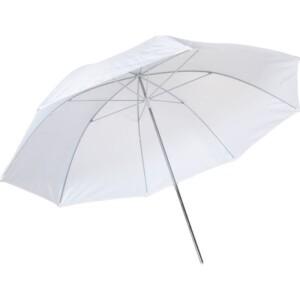 Зонт белый на просвет 122 см Fotokvant U-122T