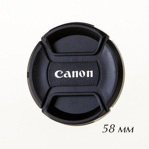 Крышка для объектива 58 мм Fotokvant CAP-58-Canon