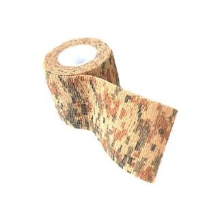 Водонепроницаемая клейкая лента камуфляжного цвета дюны Fotokvant Tape-08 Khaki