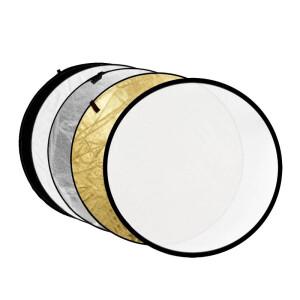 Светоотражатель 5в1 круглый 60 см Fotokvant R5-60 отражатель