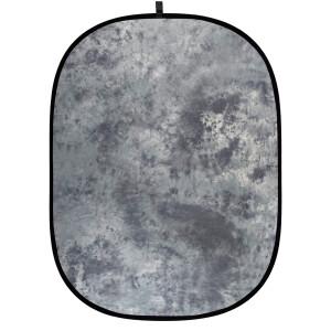 Фон складной на каркасе 1,8 х 2,1м серый пятнистый Fotokvant BG-1821 Grey Tie-dye