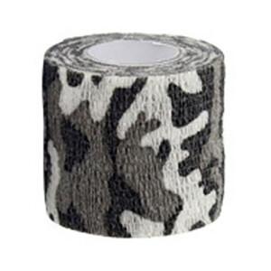 Водонепроницаемая клейкая лента камуфляжного цвета земля со снегом Fotokvant Tape-17 Khaki