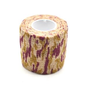 Водонепроницаемая клейкая лента камуфляжного цвета кленовый лист Fotokvant Tape-20 Khaki
