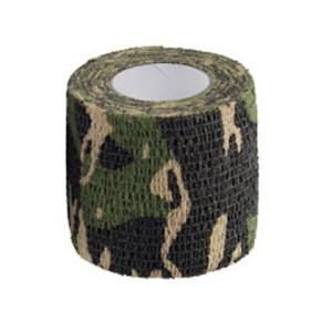 Водонепроницаемая клейкая лента камуфляжного цвета джунгли Fotokvant Tape-22 Khaki