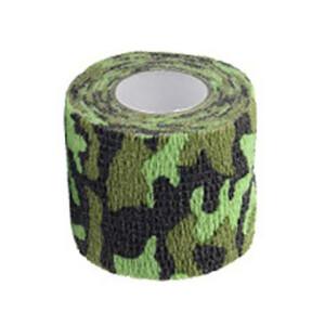 Водонепроницаемая клейкая лента камуфляжного цвета болото Fotokvant Tape-19 Khaki