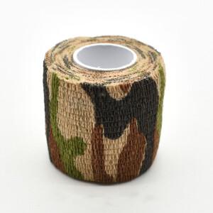 Водонепроницаемая клейкая лента камуфляжного цвета Army Fotokvant Tape-21 Khaki