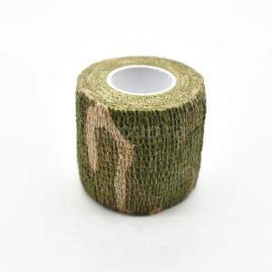 Водонепроницаемая клейкая лента камуфляжного цвета grassland Fotokvant Tape-23 Khaki