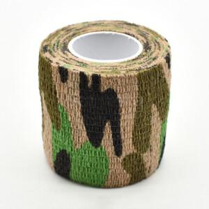Водонепроницаемая клейкая лента камуфляжного цвета Wetland Fotokvant Tape-25 Khaki