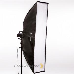 Быстрораскладной стрипбокс 30х160 см с адаптером Bowens Fotokvant SBR-30160BW софтбокс