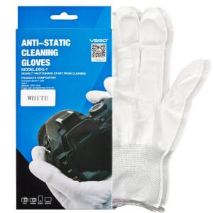 Перчатки для чистой работы антистатические чистящие для работы с оптикой VSGO DDG-1
