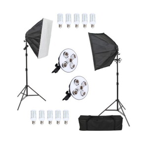 Комплект постоянного света светодиодный 250Вт Fotokvant LED-5 KIT