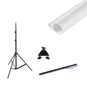 Комплект фона 1х1,3 м  для портретной съемки и системы установки Fotokvant V-2110KIT