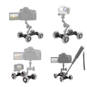 Тележка для камеры Fotokvant Dolly-02