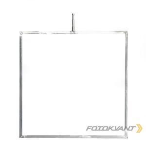 Неразборная фрост-рама 122х122 см аллюминиевая Fotokvant FRN-122