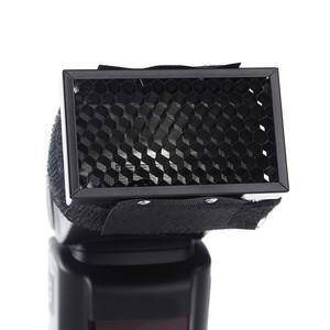 Сотовая насадка для накамерных вспышек Canon/Nikon Fotokvant GRID-F