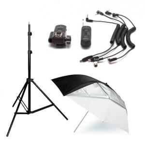 Комплект оборудования для съемки с накамерной вспышкой или моноблоком для Canon Fotokvant Master Canon 1