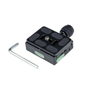 Быстросъемная площадка с адаптером для штатива Fotokvant P-QR60