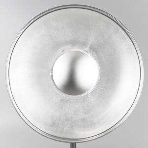 Софтрефлектор 42 см серебряный универсальный c адаптером Bowens Fotokvant SR-420S-BW