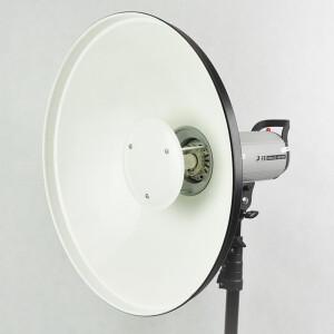 Софтрефлектор 42 см белый универсальный c адаптером Multiblitz Fotokvant SR-420W-MB