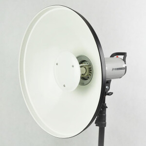 Софтрефлектор 55 см белый универсальный c адаптером Multiblitz Fotokvant SR-550W-MB
