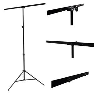 Комплект для крепления пластикового или светоотражающего фона со стойкой и перекладиной Fotokvant V-2110