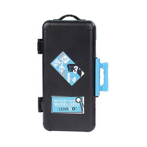 Кейс для карт памяти и аккумуляторов голубой Lensgo D950 Blue