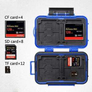 Кейс для карт памяти синий Lynca KH6 Blue
