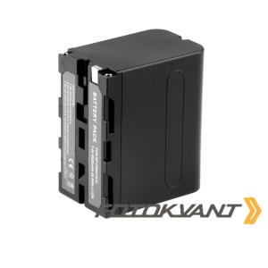 Аккумуляторная батарея ёмкостью 6600 mAh Fotokvant NP-F950/F970