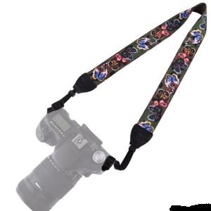 Ремень для фотоаппарата Бабочки Fotokvant STR-13