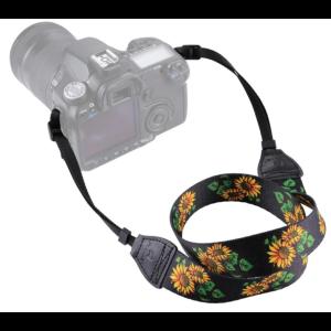 Ремень для фотоаппарата Подсолнухи Fotokvant STR-14