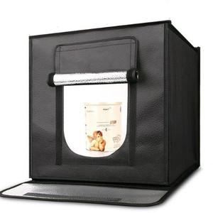 Фотобокс c LED освещением 60 см и 3-мя фонами Fotokvant BOX-60LED