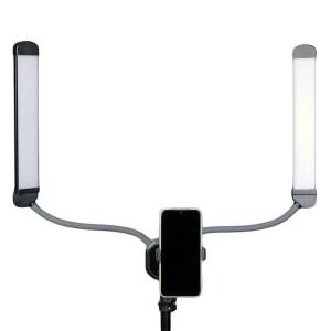 Светодиодный осветитель двойной 50Вт 3000-6500К Fotokvant LED-2
