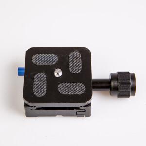Быстросъемный адаптер с площадкой для штатива Fotokvant P-QR50