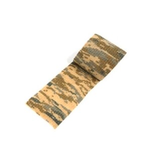 Водонепроницаемая клейкая лента камуфляжного цвета песок Fotokvant Tape-01 Khaki