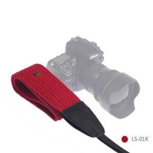Ремень для фотоаппарата красный Lensgo LS-01K