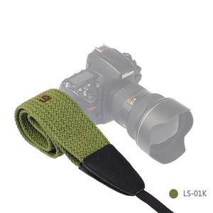 Ремень для фотоаппарата хаки Lensgo LS-02K