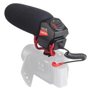 Микрофон пушка кардиоидный стереофонический для DSLR Lensgo LYM-DM200