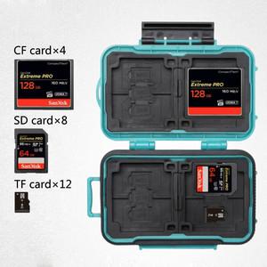 Кейс для карт памяти зеленый Lynca KH6 Green