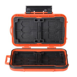 Lynca KH6 Orange кейс для карт памяти оранжевый