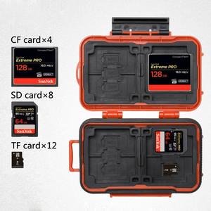 Кейс для карт памяти оранжевый Lynca KH6 Orange