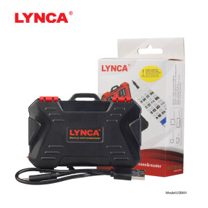 Кейс для хранения карт памяти с картридером Lynca USBKH
