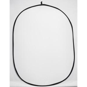 Фон каркасный тканевый складной белый 1.5х2 м плюс черный и синий с пологом 1.2 м Fotokvant BG-1520-12 White Blue Black
