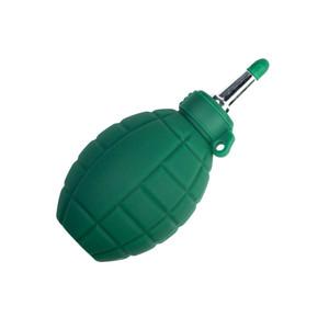 Резиновая груша зеленая для очистки c серебристым наконечником Fotokvant CLE-04GREEN