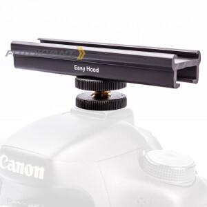 Кронштейн-крепление рельс EasyHood 10 см на холодный башмак камеры Fotokvant RFLH-19